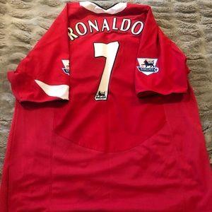 Original Man U Ronaldo jersey